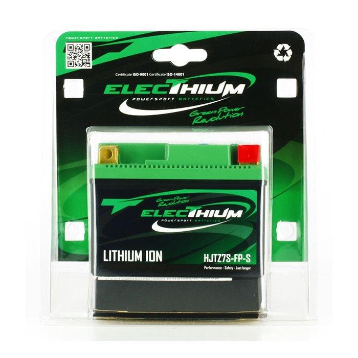 Batteria Litio Electhium Ytz7s-bs / Hjtz7s-fp-s