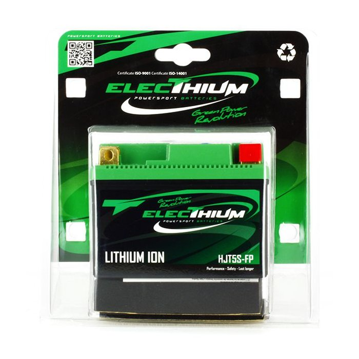 Batteria Litio Electhium Ytz5s-bs / Hjtz5s-fp