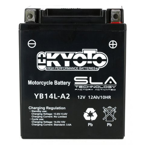 Batteria Moto Kyoto Yb14l-a2 Sla Agm