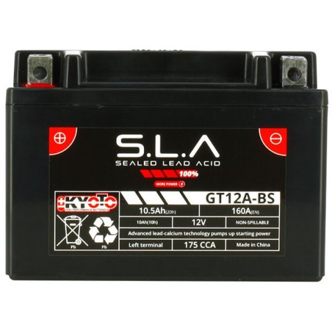 Batteria Moto Kyoto Yt12a-bs - Sla Agm