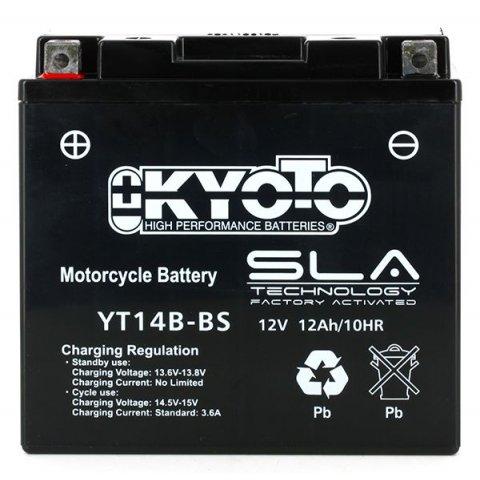Batteria Moto Kyoto Yt14b-bs - Sla Agm