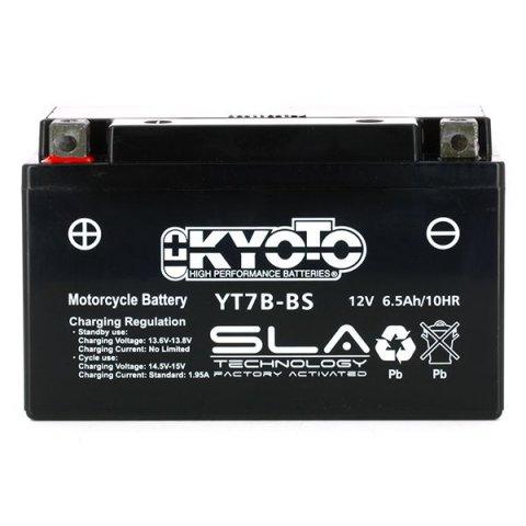 Batteria Moto Kyoto Yt7b-bs - Sla Agm