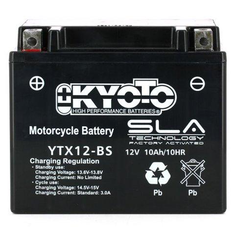 Batteria Moto Kyoto Ytx12-bs - Sla Agm