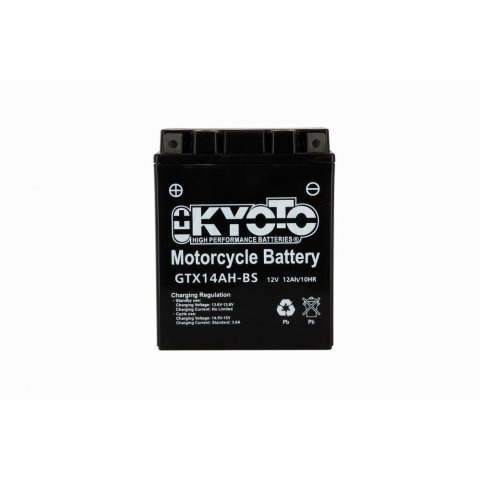 Batteria Moto Kyoto Ytx14ah-bs -senza Manut Acido