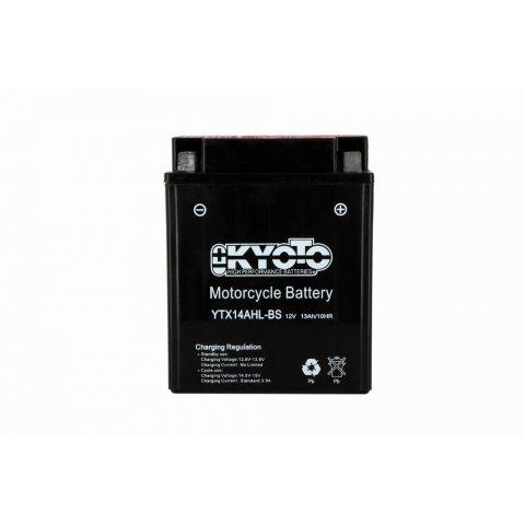 Batteria Moto Kyoto Ytx14ah-lbs -senza Manut Acido