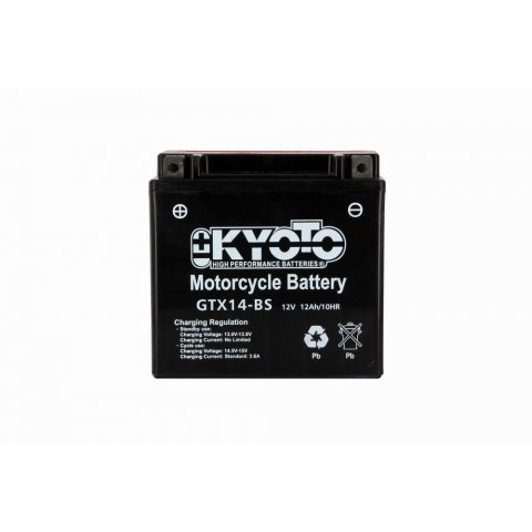 Batteria Moto Kyoto Ytx14-bs - Senza Manut Acido