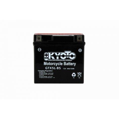 Batteria Moto Kyoto Ytx5l-bs Senza Manut Acido