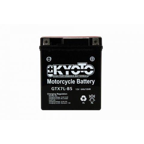 Batteria Moto Kyoto Ytx7l-bs- Senza Manut Acido
