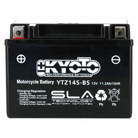 Batteria Moto Kyoto Ytz14s-bs - Sla Agm