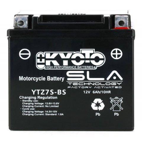 Batteria Moto Kyoto Ytz7s-bs - Sla Agm