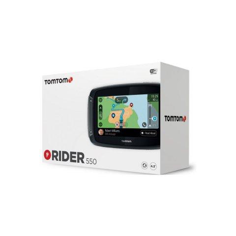 Tomtom Rider 550 Mappe Mondo