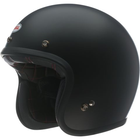 Casco Jet Bell Custom 500 Solid Matte Black