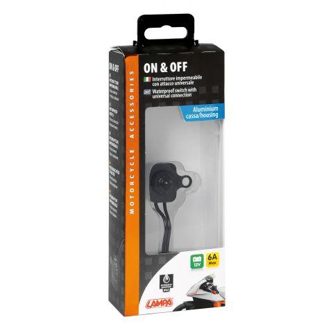 Interruttore Impermeabile Switch Black Lampa 90463