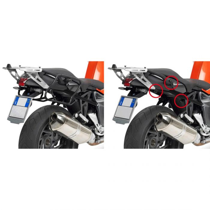Portav.laterale Givi  Bmw K 1200r/ Nd