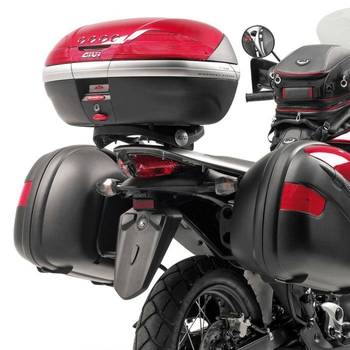 Piastra Monokey Givi E225 Per Honda Xl700v Transalp 08/13