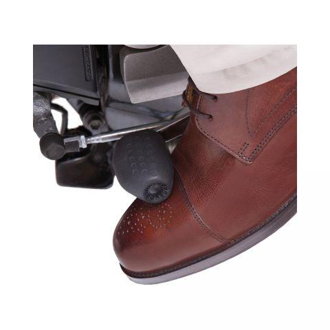 LAMPA SALVA SCARPA in pelle fascia proteggi scarpe da Moto scooter