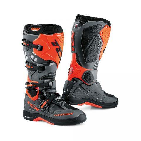 Stivali Tcx Off Road Comp Evo 2 Michelin Dark Grey/orange Flu
