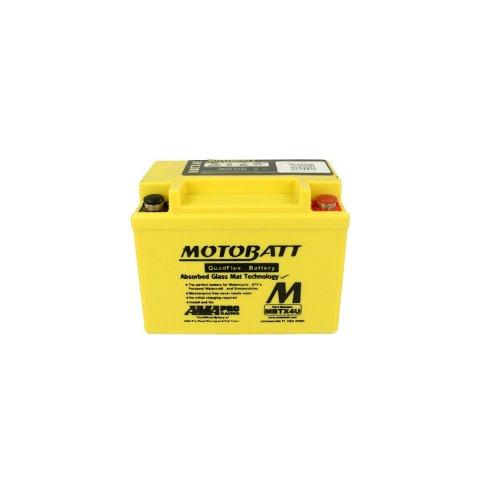 Batteria Potenziata Agm Motobatt 4,7 Ah Mbtx4u
