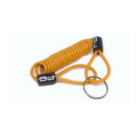 Cavo Reminder Oj Cable Lock Arancione
