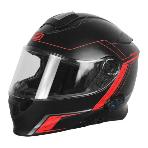 Casco Modulare Con Bluetooth Origine Delta Motion Black Red