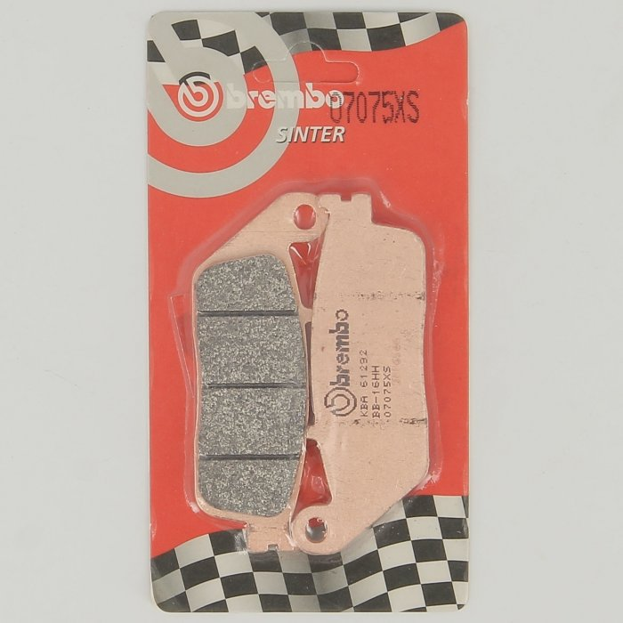 Set Pasticche Brembo 07075xs Sint. Scooter E Maxi Scooter