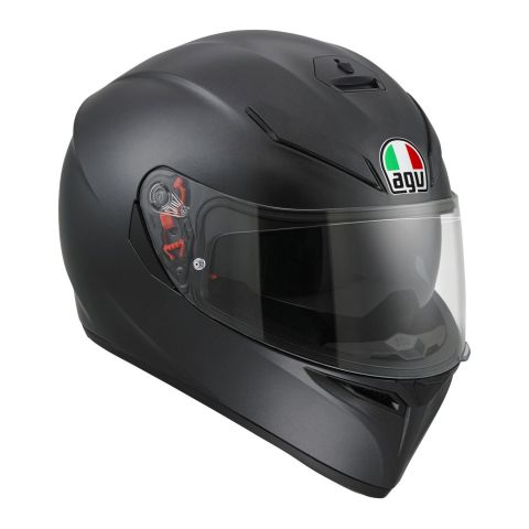 Casco Integrale Agv K3 Sv E2205 Solid Matt Black