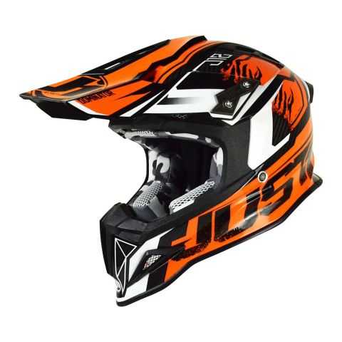 Casco Off-road / Cross Just1 J12 Dominator Orange