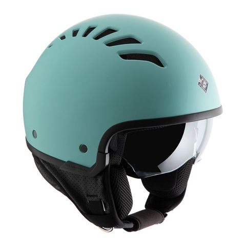 Casco Tucanourbano El Fresh Tiffy Blu Opaco