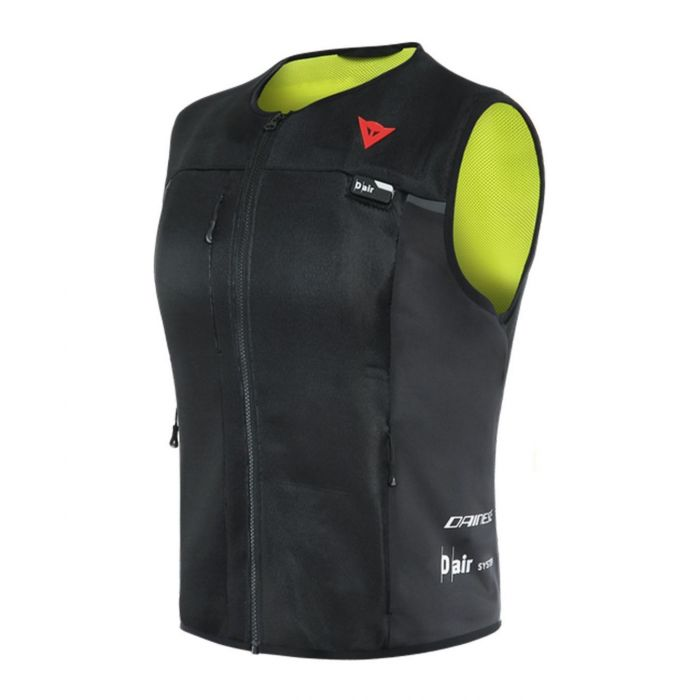 Airbag Dainese Smart Jacket D-air Donna Black Yellow Fluo