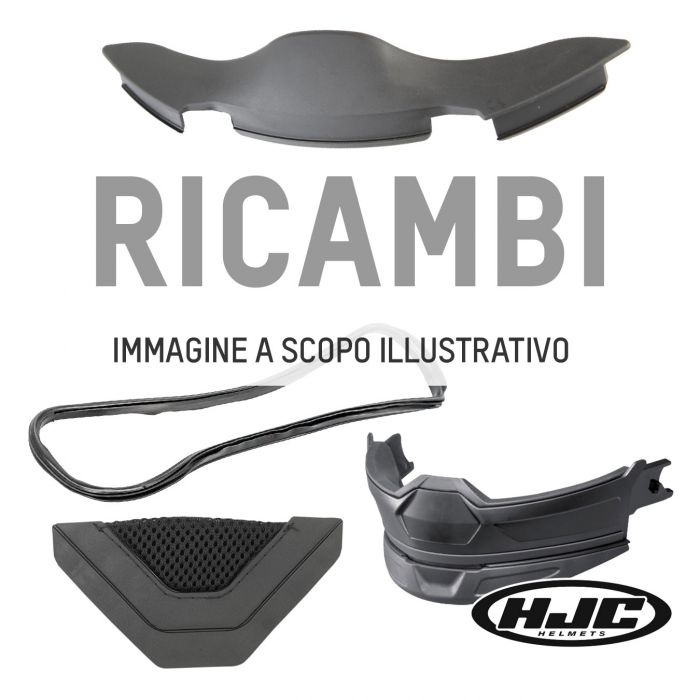 Guarnizione Hjc Per Rpha10 Plus (xl) 12mm - Bs Rep