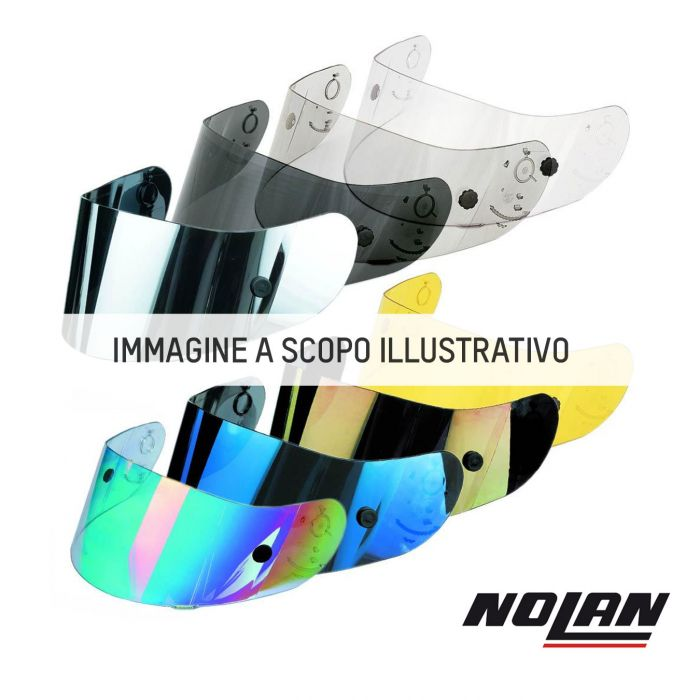 Nolan Visiera Silver Per N91/evo/90/-2/g9.1/evolve