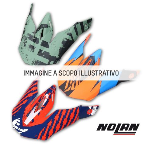 Nolan Frontino Metal White Per N70-2x (l-xl-2xl-3xl)
