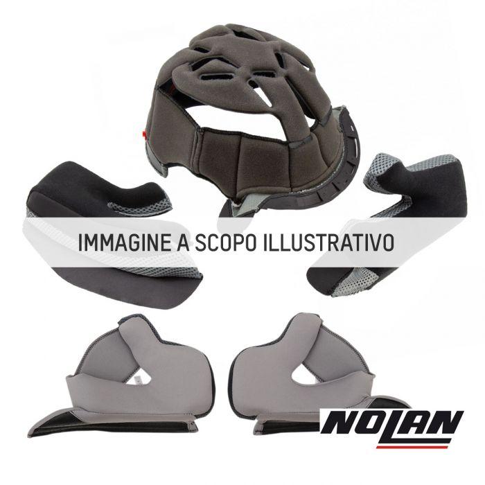 Nolan Guanciali Steadyfit Tg.2xs-xs-s (45mm) Grey-black Per X903/ult