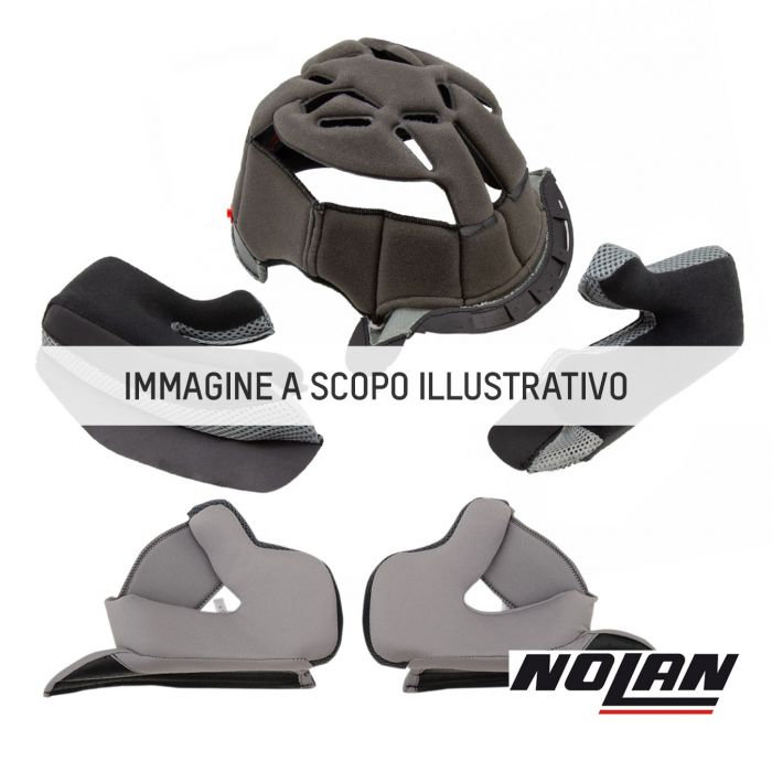 Nolan Guanciali Steadyfit Tg.xl-2xl-3xl (30mm) Grey-black Per X903/u