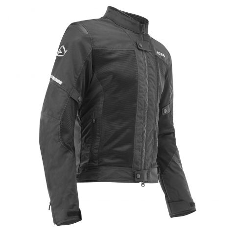 Giacca Ce Ramsey Vented Acerbis Nero