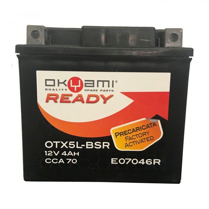 Batteria Okyami Otx5l-bsr Precaricata...
