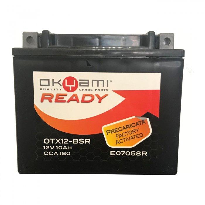 Batteria Okyami Otx12-bsr Precaricata...