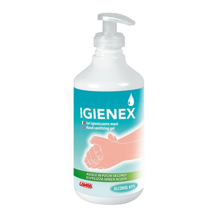 Gel Igienizzante Mani Lampa Igienex 500 Ml