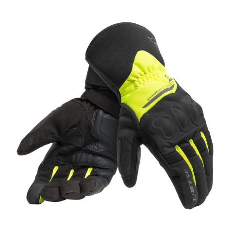 Guanti Dainese X-tourer D-dry Black/fluo-yellow