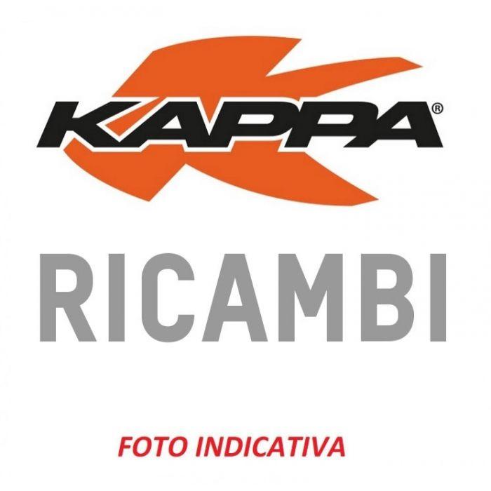 Catadiottro Kappa Per Valigia K40 Verniciato Nero