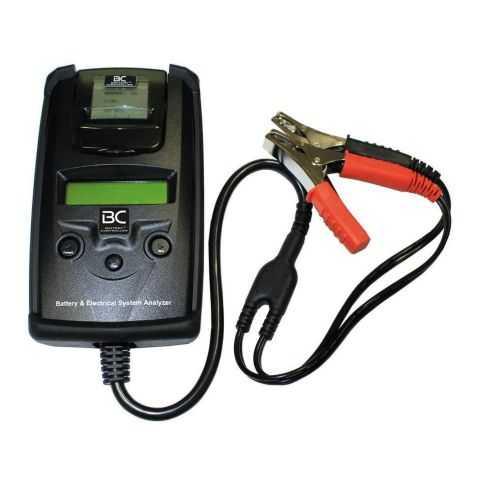 Bc Tester Batterie 6/12v 40-2000 Cca + Stampante