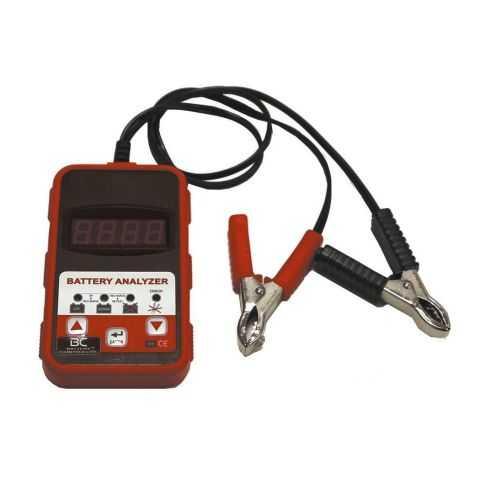 Bc Tester Batterie 12v 200-1200 Cca