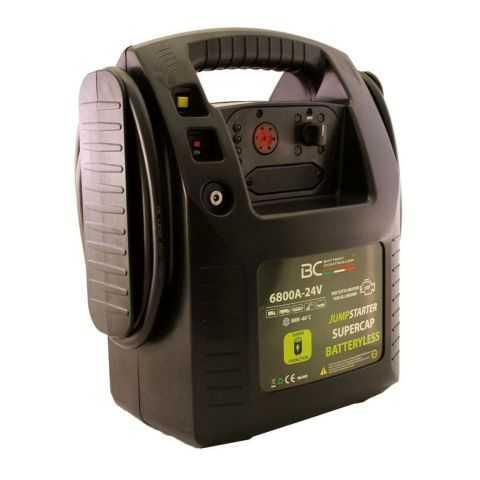 Bc Jumpstarter Supercap Batteryless 6800a-24v