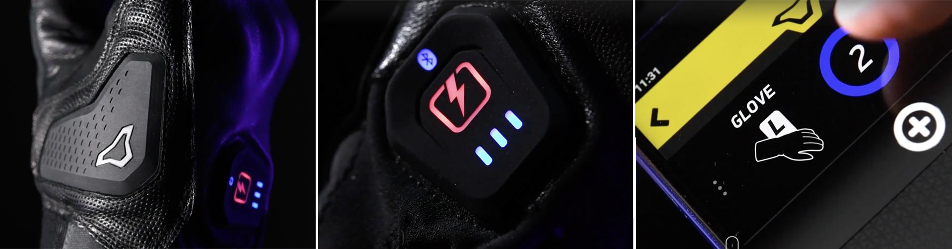app per guanti riscaldati