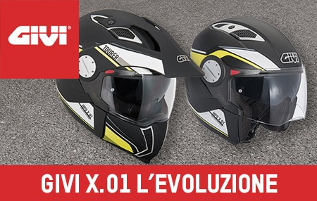 Givi X.01 Touring casco smontabile made in Givi