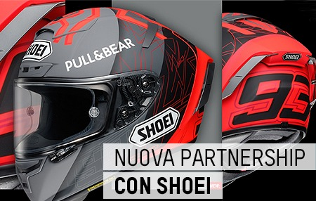Motorstock.it e SHOEI: una nuova partnership
